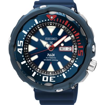 (無卡分期6期)SEIKO Prospex PADI 聯名潛水限量機械錶(SRPA83J1)-藍