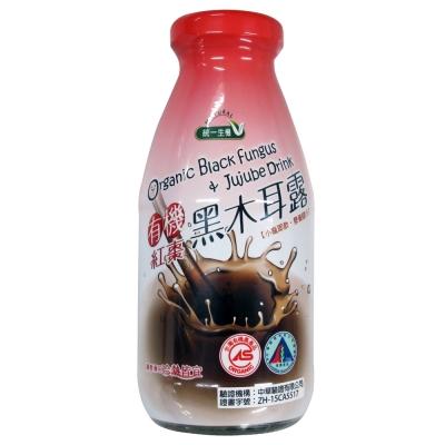 統一生機 有機紅棗黑木耳露(290mlx24瓶)
