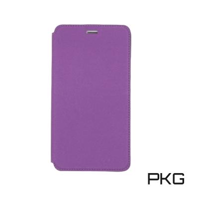 PKG 小米MAX2 側翻式皮套-磨砂系列-紫色