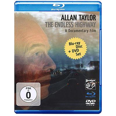 亞倫.泰勒 - 無盡公路 BD+DVD