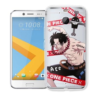 航海王 HTC 10 evo 5.5吋 透明軟式手機殼(封鎖艾斯)