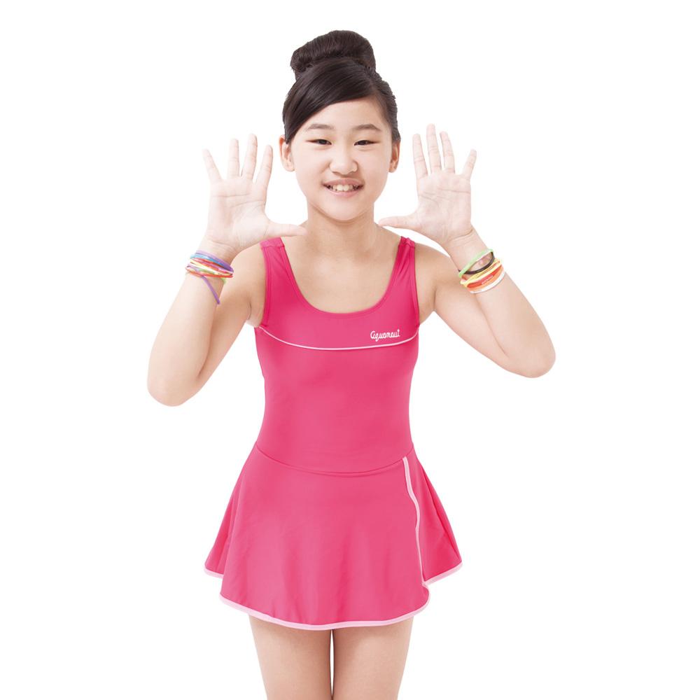 Aquanaut奧可那泳裝 小紅青春一件式洋泳衣
