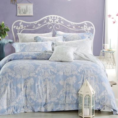 Ania Casa 浪漫華爾曼 原廠天絲 採用3M吸溼排汗專利-加大鋪棉兩用被床包組
