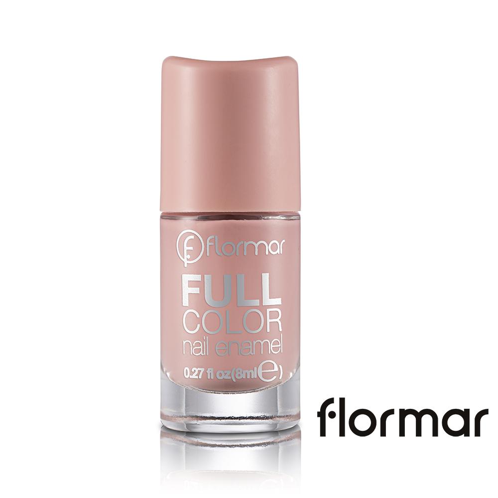 法國 Flormar - 沐浴巴黎系列玩色指甲油(FC04玫瑰人生)