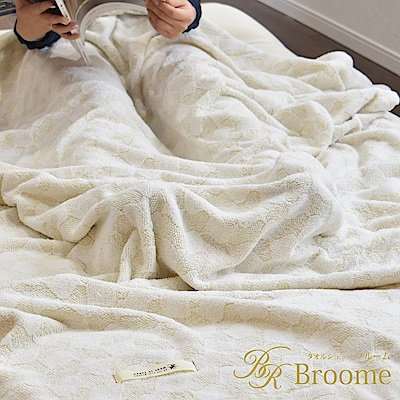 Broome IKOI 今治毛巾毯 (粉嫩黃)