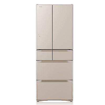 HITACHI日立 日本原裝變頻511L六門電冰箱-RG520HJ