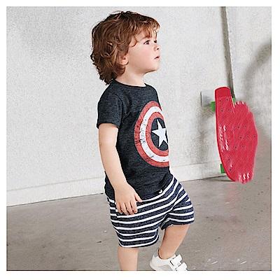 歐美春夏純棉兒童套裝-超級英雄