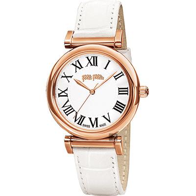 Folli Follie Obsession 羅馬時尚腕錶WF14R029SPS-WH