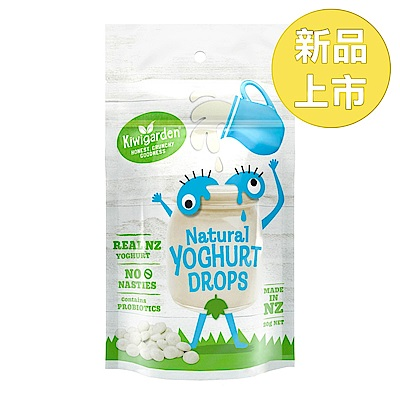 【小兒利撒爾】紐西蘭 Kiwigarden 益菌優格豆 原味(20g/袋)