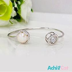 AchiCat 925純銀 跳舞的手環 優雅圓舞曲 天