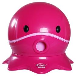 寶貝樂 可愛章魚幼兒馬桶學便器-桃紅
