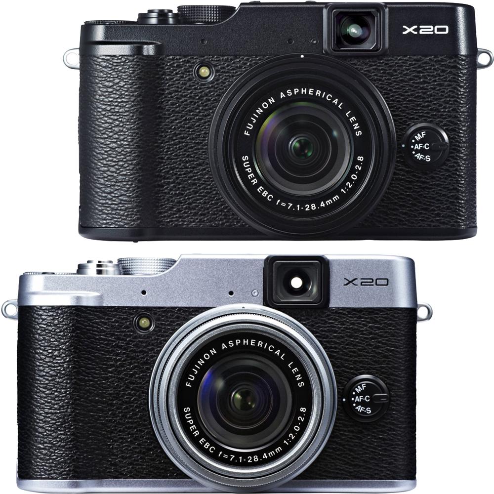 FUJIFILM X20 F2.0大光圈高階類單相機 - 遮光組(公司貨)
