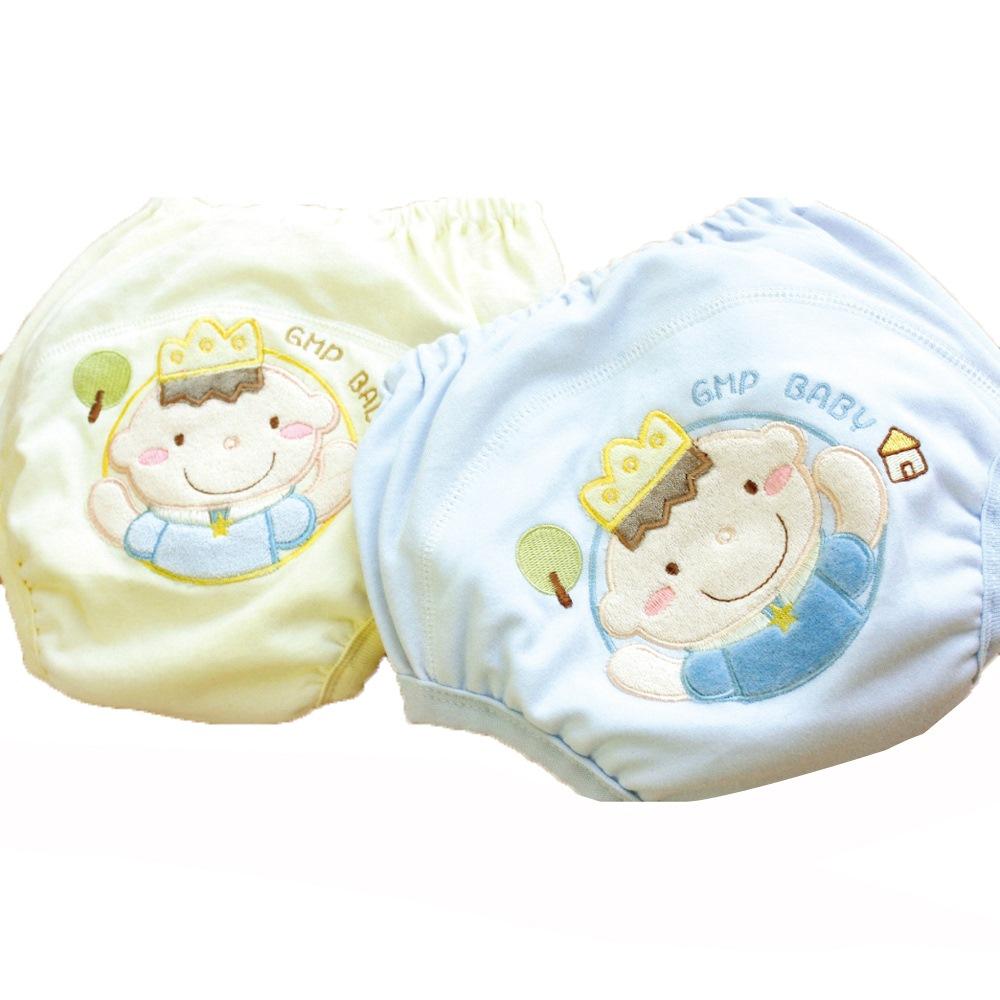 GMP BABY 王子超吸排純棉紗寶寶學習褲-1件