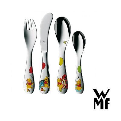 WMF小熊維尼兒童餐具4件套組