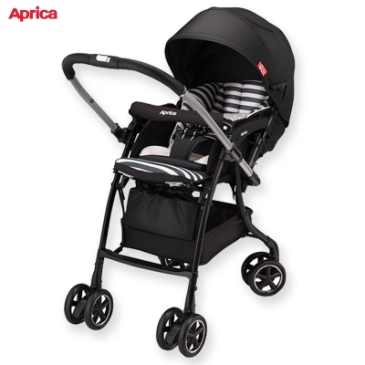 Aprica 手推車 Luxua Dual 直覺系列 黑國王