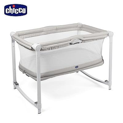 chicco-Zip & Go可攜式兩段嬰兒搖床-奶油灰