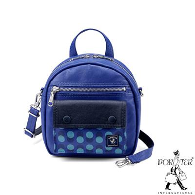 PORTER - 奇幻樂園 WONDER LAND時尚優雅肩背包 - 藍紫
