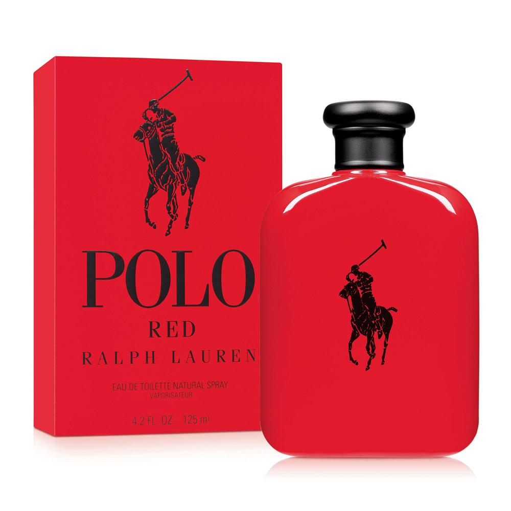 Ralph Lauren Polo Red 紅色馬球男性淡香水 125ml