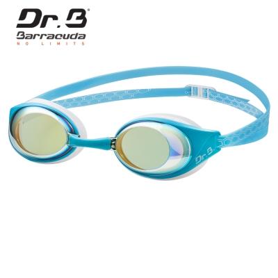 美國巴洛酷達Barracuda Dr.B AQUAREVOL 度數電鍍泳鏡