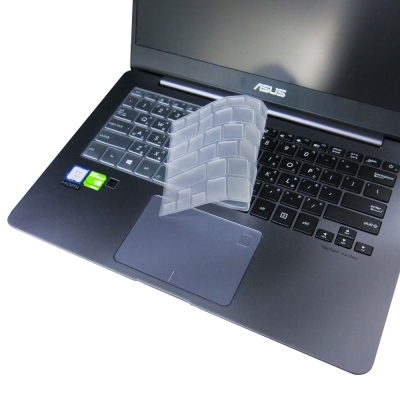 EZstick ASUS UX430 UQ 專用 奈米銀 TPU 鍵盤保護膜