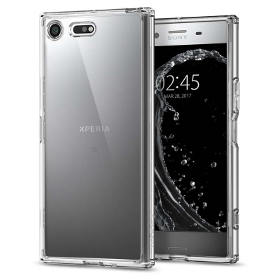 Spigen Sony XZ Premium Ultra Hybrid-超薄型雙...