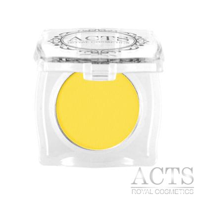 ACTS維詩彩妝 霧面純色眼影 黃色A206