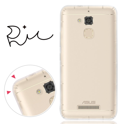 RedMoon ASUS ZenFone 3 Max 防摔氣墊透明TPU手機軟殼