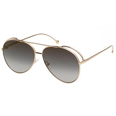 FENDI  雷朋造型 太陽眼鏡 (金色)FF0286S-J5G