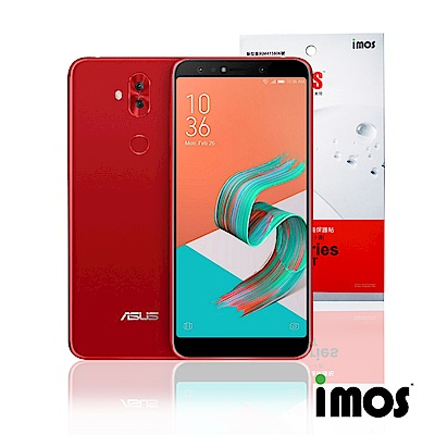 iMos ASUS Zenfon 5Q 超抗撥水疏水疏油效果螢幕保護貼