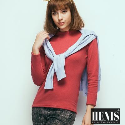 內搭衛生衣 <b>2</b>件組經典速暖絨彈性高領媽咪內搭高領衣 HENIS