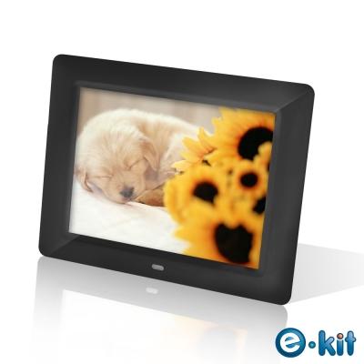 e-Kit 逸奇 8吋亮黑數位相框電子相冊 DF-F023-BK(黑色款)