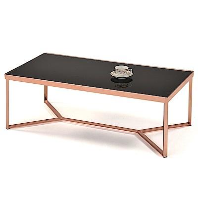 aaronation 愛倫國度 - 奢華紅銅四方咖啡桌NC-A470CR-BG