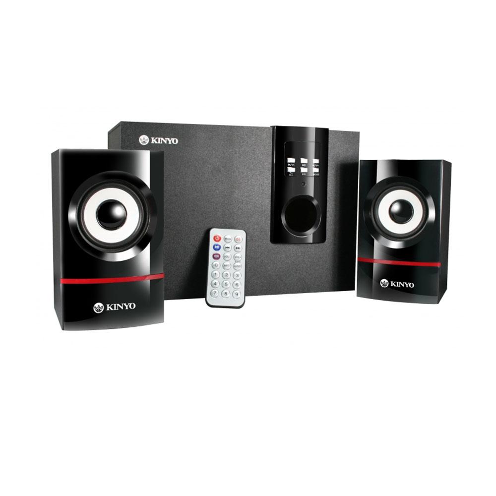 KINYO 可插卡搖控式2.1聲道音箱 KY-7350