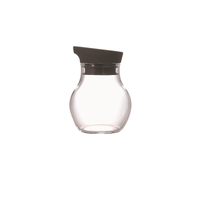 HARIO-NUBA黑灰調味瓶120ml / NCF-120CGR