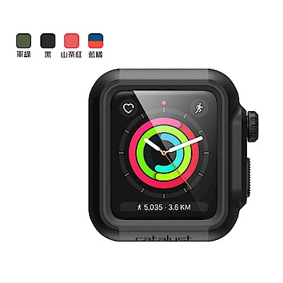 CATALYST APPLE WATCH S2/3 (42mm) 耐衝擊防摔保護殼