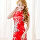 旗袍 角色扮演服 東方迷情華麗(紅F) 天使霓裳 product thumbnail 1