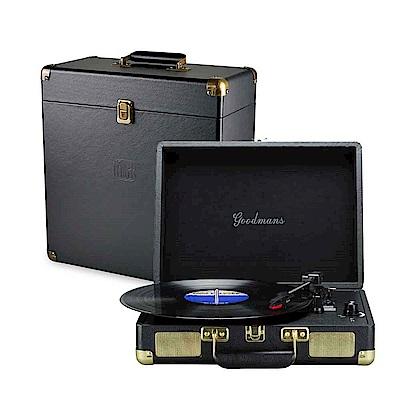 Goodmans Turntable 英國手提箱黑膠唱片機+黑膠收納箱