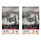 Pro Plan冠能 挑嘴成貓鮭魚潤毛配方 7kg X2包