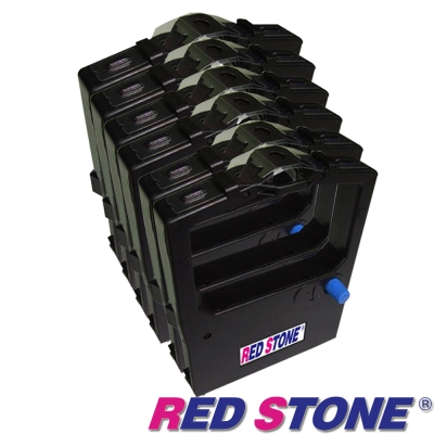 RED STONE for PRINTEC PR9330/OKI 590色帶組(1組6入)