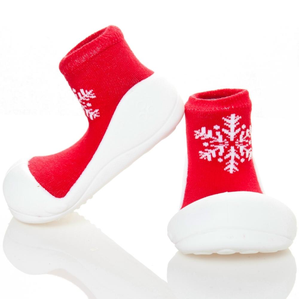 韓國Attipas 快樂學步鞋AX03-耶誕紅