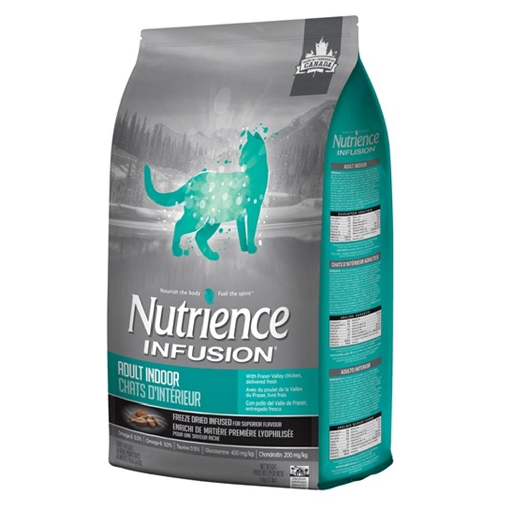 紐崔斯Nutrience INFUSION天然室內貓《雞肉》貓糧1.13kg (2包組)