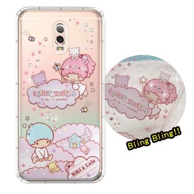 正版雙子星 Samsung Galaxy J7+ 夢幻童話 彩鑽氣墊保護殼(雙子...