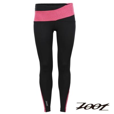 ZOOT 頂級極致型抗寒輕肌能壓縮長褲(女)(時尚黑蜜紅)Z1504032