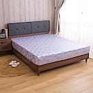 【璐易絲系列】透氣升級款-歐式緹花抗菌透氣強化紓壓單人3尺彈簧床墊