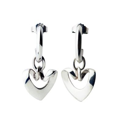 Georg Jensen 2001年度設計師針式純銀耳環