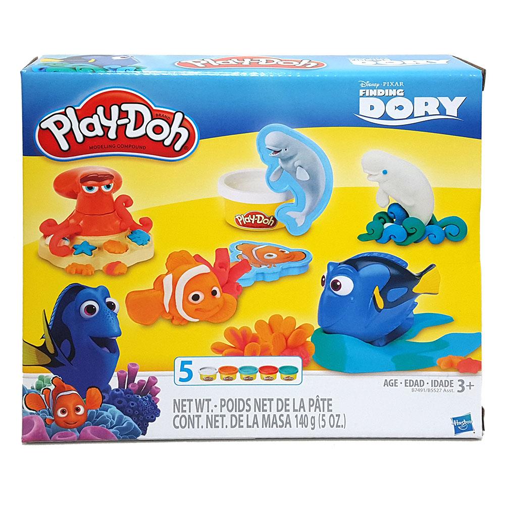 培樂多Play-Doh 創意DIY黏土 海底總動員遊戲組 B7491(3Y )