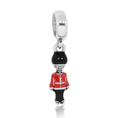 Pandora 潘朵拉 英格蘭紅衛兵 純銀墜飾 串珠