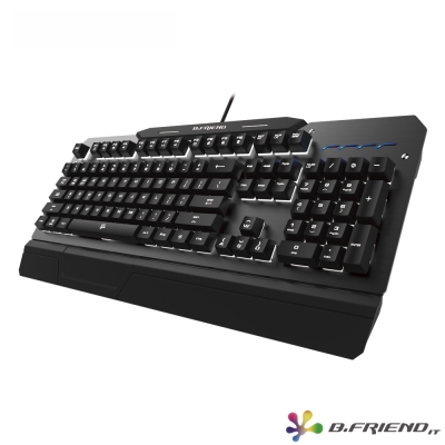B.FRIEND MK5 有線背光機械鍵盤-黑