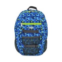 英國Hugger孩童登山背包-迷彩藍