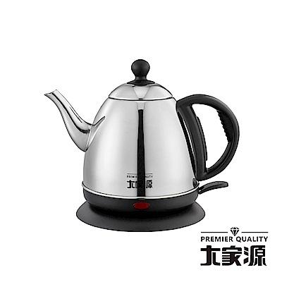 大家源 304不鏽鋼分離式快煮壺(1L) TCY-2710